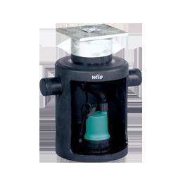 Напорные установки отвода сточной воды Wilo-DrainLift Box