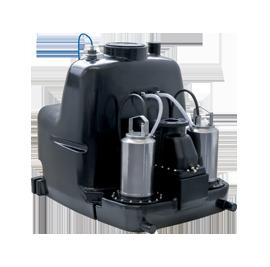 Напорные установки отвода сточной воды Wilo-DrainLift XL