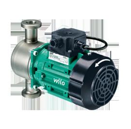 Циркуляционные насосы с сухим ротором в исполнении Inline Wilo-VeroLine-IP-Z