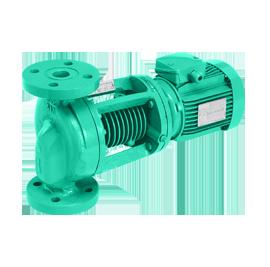 Циркуляционные насосы с сухим ротором в исполнении Inline  Wilo-VeroLine-IPH-W