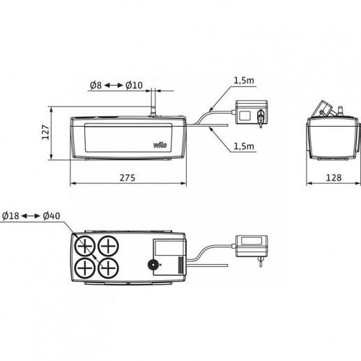 Автоматическая напорная установка для отвода конденсата WILO Plavis 015-C арт. 2544143