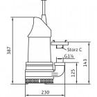 Фекальный насос WILO EMU KS 9 E арт. 6019745
