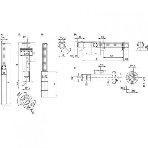 Колодезный насос WILO Sub TWI 4.05-04-CI (3~400 V, 50 Гц) арт. 6079264