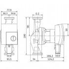 Циркуляционный насос WILO Yonos PICO 30/1-4 арт. 4164033