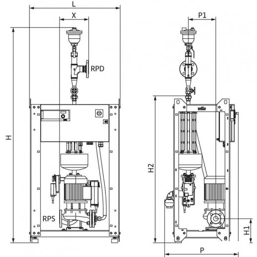 WILO SiClean Comfort 25 арт. 4194910